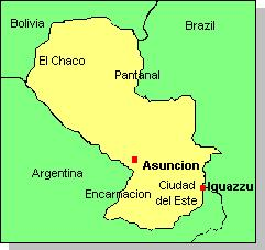 MAPParaguayJPG - Where is asuncion